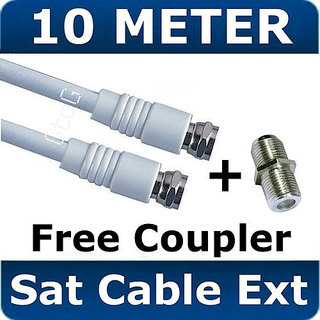10m satellite f connector sky extension cable. Black Bedroom Furniture Sets. Home Design Ideas