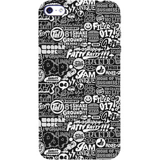 ifasho Motivatinal Quote Back Case Cover for Apple iPhone 5