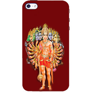 ifasho Lord Hanuman Back Case Cover for   5