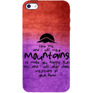 ifasho Love Quotes for love Back Case Cover for Apple iPhone 5