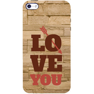 ifasho Quote On Love you and me Back Case Cover for   5