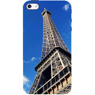 ifasho Effile Tower Back Case Cover for Apple iPhone 5