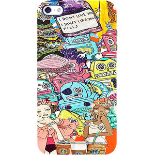 ifasho Gang Of Girls Back Case Cover for Apple iPhone 5