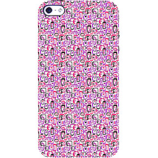 ifasho Colour Full Squre Pattern Back Case Cover for   5