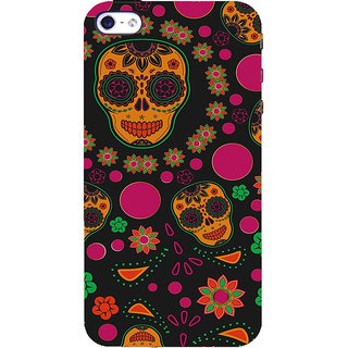 ifasho Animated Pattern Back Case Cover for Apple iPhone 5