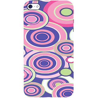 ifasho Animation Clourful Circle Pattern Back Case Cover for Apple iPhone 5