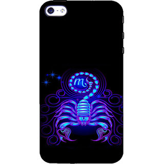 ifasho zodiac sign scorpio Back Case Cover for Apple iPhone 5