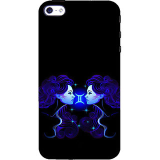 ifasho zodiac sign gemini Back Case Cover for Apple iPhone 5