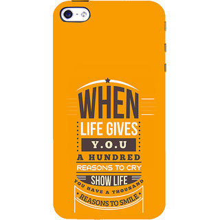 ifasho quotes on success Back Case Cover for Apple iPhone 5
