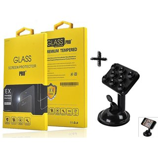 Tempered Glass Screen Protector For  Samsung Z3 With Car Mobile Holders