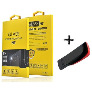 Tempered Glass Screen Protector For  Intex Aqua 4.5E With Memory Card Reader