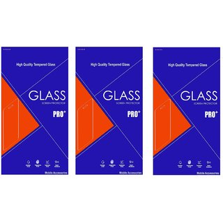 HTC One M7 Tempered Glass (Pack of 3)