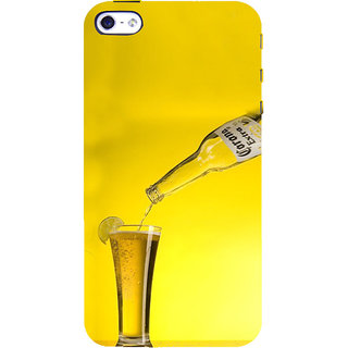 ifasho Beer Back Case Cover for Apple iPhone 5