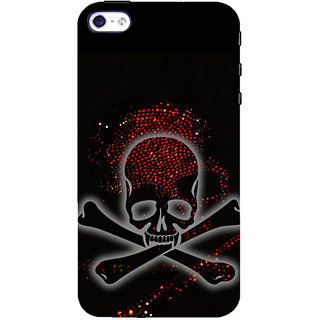 ifasho Modern  Design animated skeleton Back Case Cover for   5