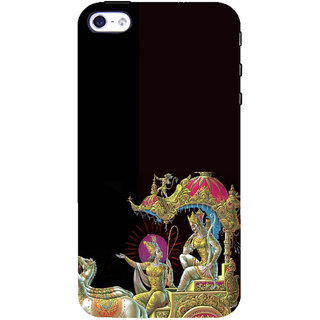 ifasho krishna driving Chariot of Arjun Back Case Cover for Apple iPhone 5