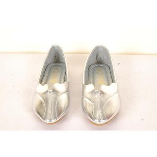 Senorita Women's Glossy Bellies(Silver)