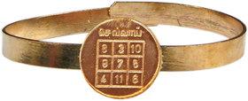 Angaraka Graha Dosh Nivaran Adjustable Copper Bangle Bracelet