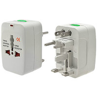 Travel Adapter-International Worldwide Travel AC Power Plug - AU-UK-US-EU