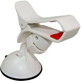 Car Mobile Holder Mount Bracket Holder Stand for Car (White)