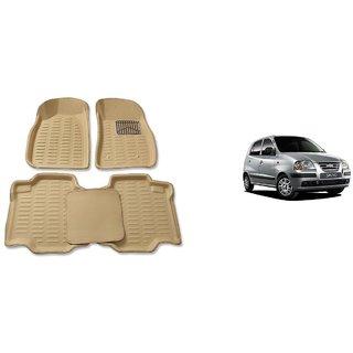 Hyundai Santro 4D Premium Car Foot Mat