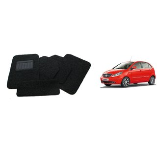 TATA Indica Vista Carpet Car Foot Mat Set of 5 Pcs.