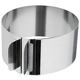 Adjustable Size Cake Ring Mould