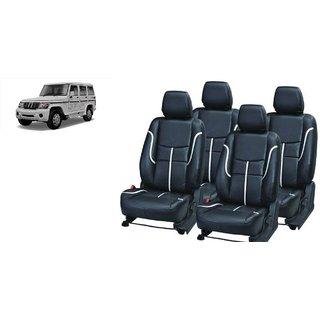 Mahindra Bolero PU Leatherite Car Seat Cover- PU0034