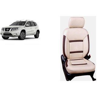 Nissan Terrano  PU Leatherite Car Seat Cover- PU0015