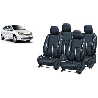 Tata Indica PU Leatherite Car Seat Cover- PU0034