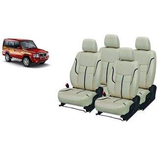 Tata Sumo PU Leatherite Car Seat Cover- PU0002