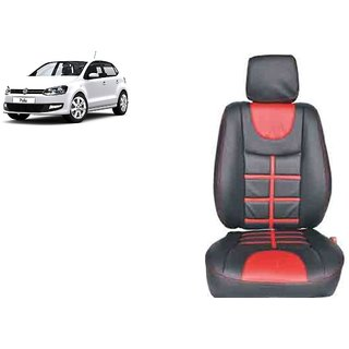 Volkswagen Polo PU Leatherite Car Seat Cover- PU0024
