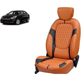 Hyundai Accent PU Leatherite Car Seat Cover- PU0026