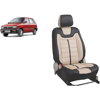 Maruti 800 PU Leatherite Car Seat Cover- PU0031