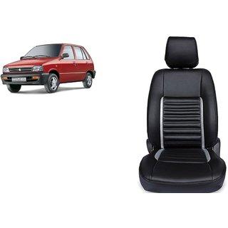Maruti 800 PU Leatherite Car Seat Cover- PU0033