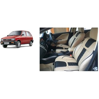 Maruti 800 PU Leatherite Car Seat Cover- PU0035