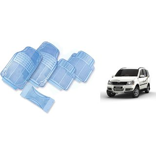 Mahindra Xylo Transparent Car Foot Mat Set of 5 Pcs.
