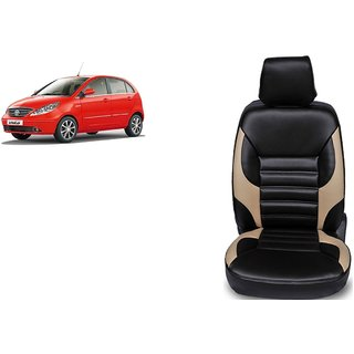 Tata Indica Vista PU Leatherite Car Seat Cover- PU0032