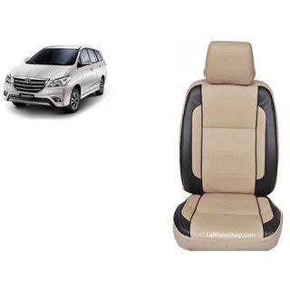 Toyota Innova PU Leatherite Car Seat Cover- PU0028