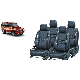 Tata Sumo PU Leatherite Car Seat Cover- PU0016
