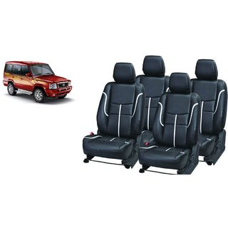 Tata Sumo PU Leatherite Car Seat Cover- PU0034