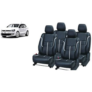 Volkswagen Polo PU Leatherite Car Seat Cover- PU0034