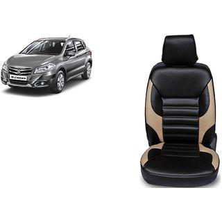 Maruti S-Cross PU Leatherite Car Seat Cover- PU0032