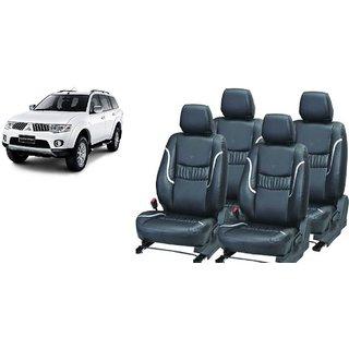 Mitsubishi Pajero PU Leatherite Car Seat Cover- PU0016