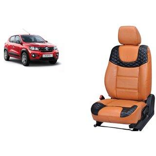 Renault Kwid PU Leatherite Car Seat Cover- PU0025