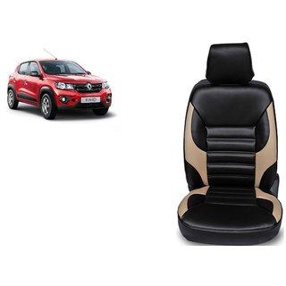 Renault Kwid PU Leatherite Car Seat Cover- PU0032
