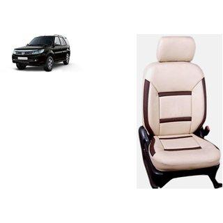 Tata Safari Strome PU Leatherite Car Seat Cover- PU0015