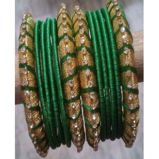 Silk Thread Bangles Designed