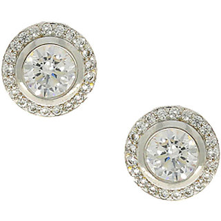 Anuradha Art Silver-Gold Colour Very Sylish  Designer Earrings For Women/Girls