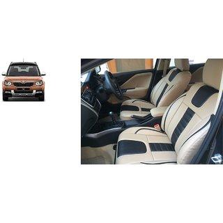 Skoda Yeti PU Leatherite Car Seat Cover- PU0035