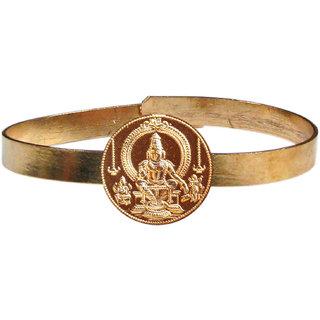 Sabarimala Ayyappa Swamy Adjustable Copper Bangle Bracelet